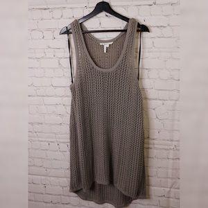 BCBG chrochet sleeveless cover